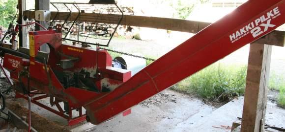 Première machine à bois